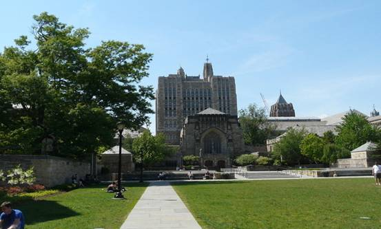 耶鲁大学是美国历史上最悠久的
